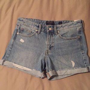 NWT Lucky Brand Boyfriend Denim Jean Shorts 6/28